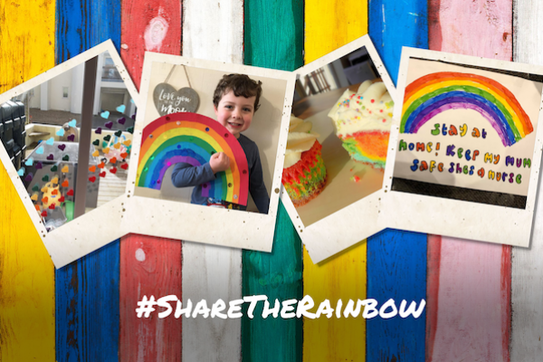 Save the rainbow campaign image